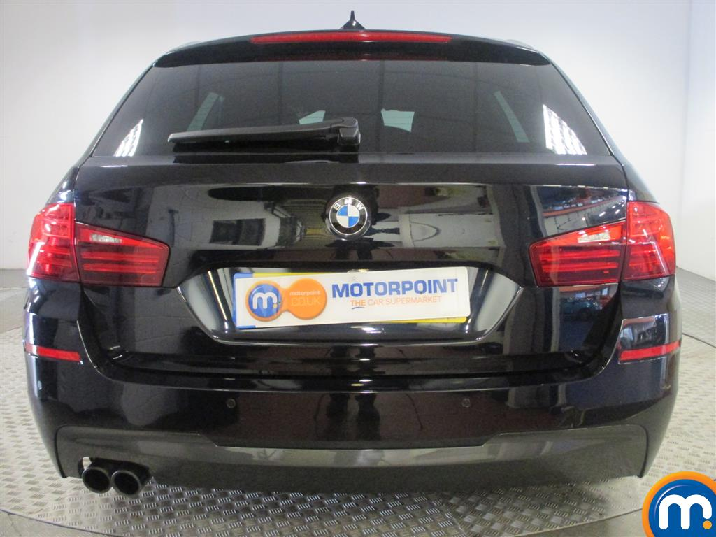 black bmw 5 series m sport for sale photo - 7