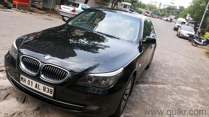 black bmw 5 series price photo - 3