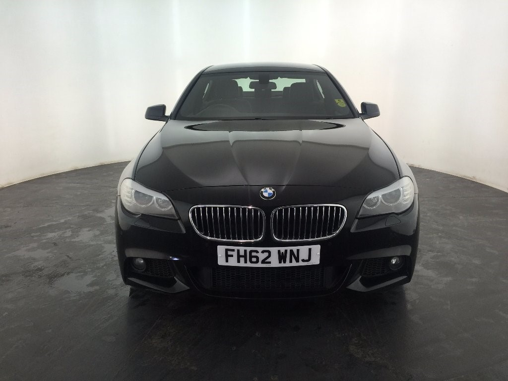 black bmw 520d sale photo - 1
