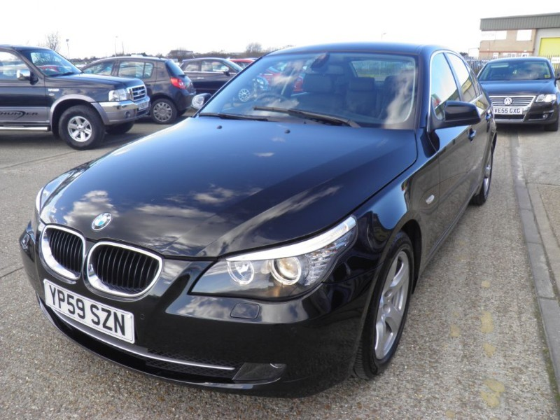 black bmw 520d sale photo - 2