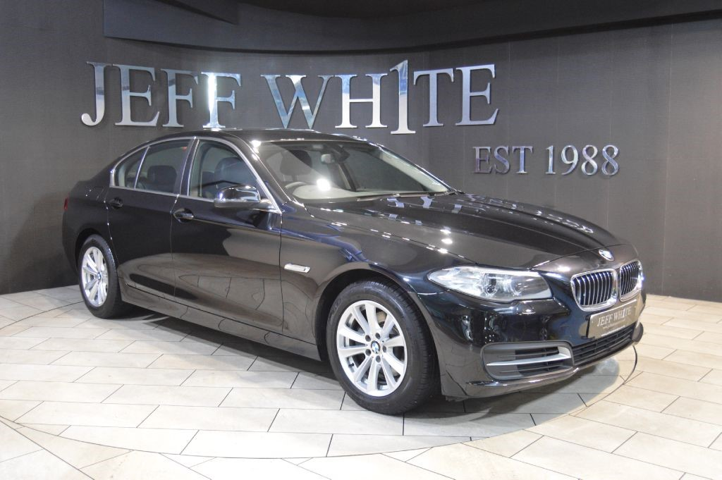 black bmw 520d sale photo - 3