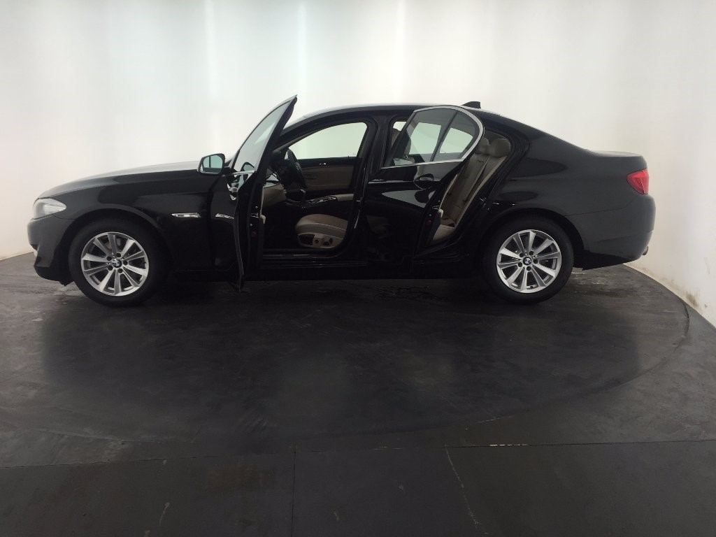 black bmw 520d sale photo - 5