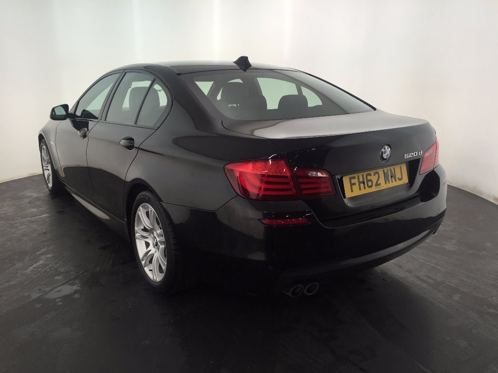black bmw 520d sale photo - 6