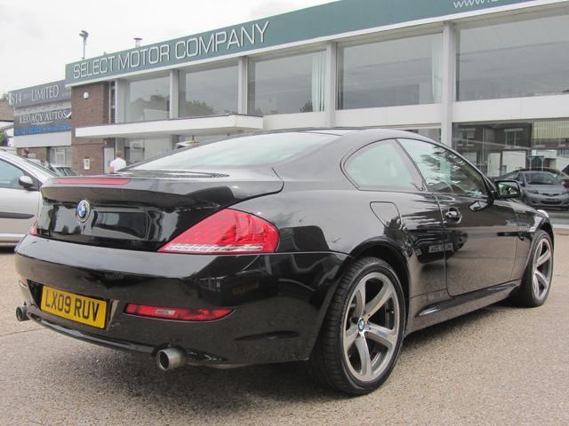 black bmw 6 series for sale photo - 1
