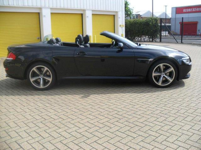 black bmw 6 series for sale photo - 2