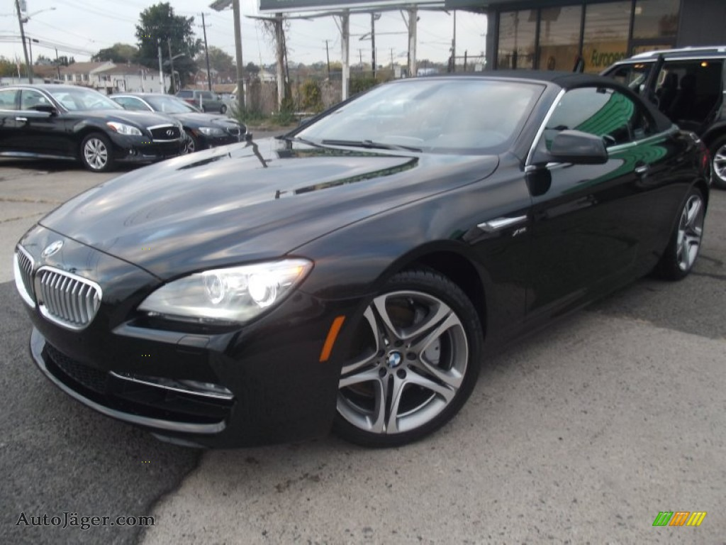 black bmw 6 series for sale photo - 3