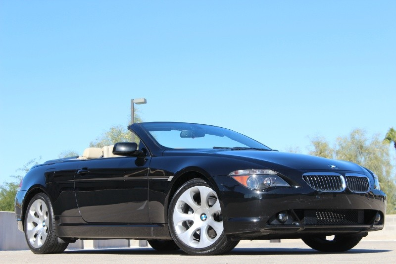 black bmw 6 series for sale photo - 4