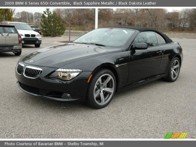 black bmw 650i convertible for sale photo - 7