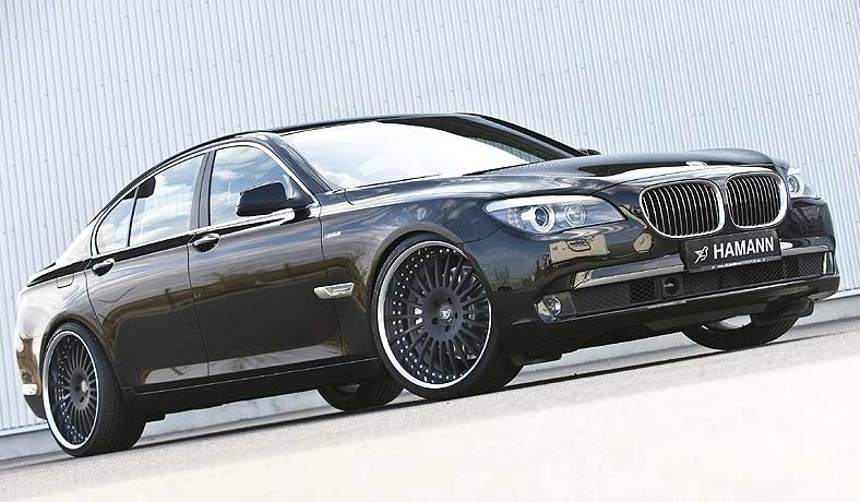 black bmw 7 series photo - 7