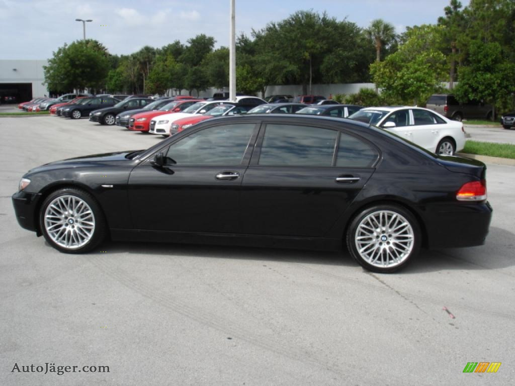 black bmw 7 series for sale photo - 2