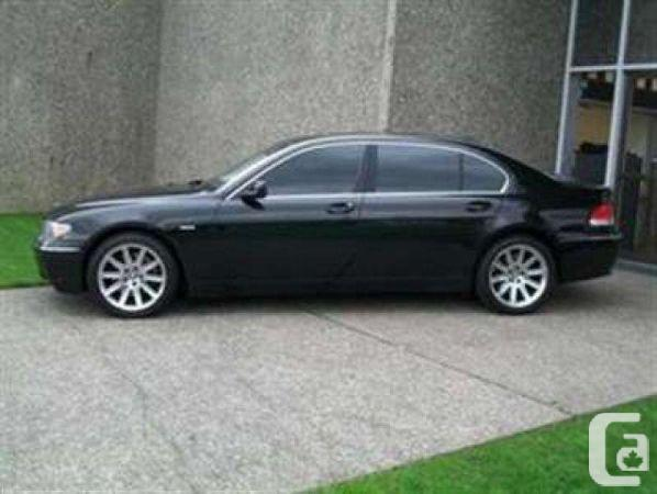 black bmw 7 series for sale photo - 4