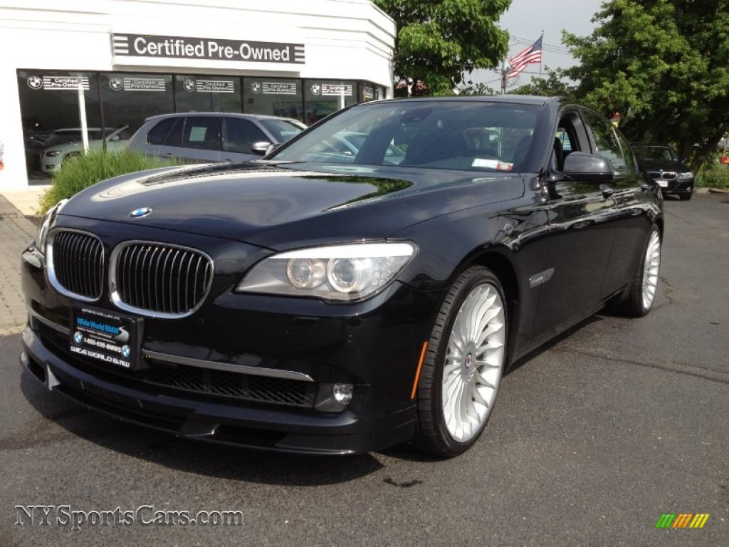 black bmw 7 series for sale photo - 5