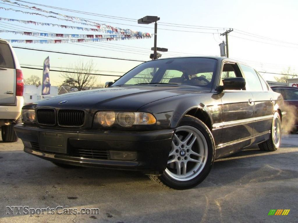 black bmw 7 series for sale photo - 6