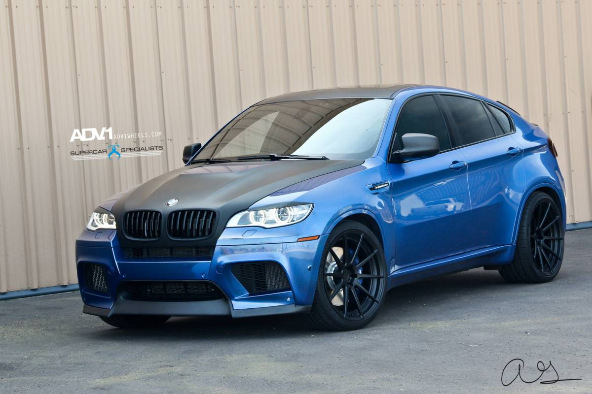 Black Bmw Blue Rims Car Photos Catalog 2018