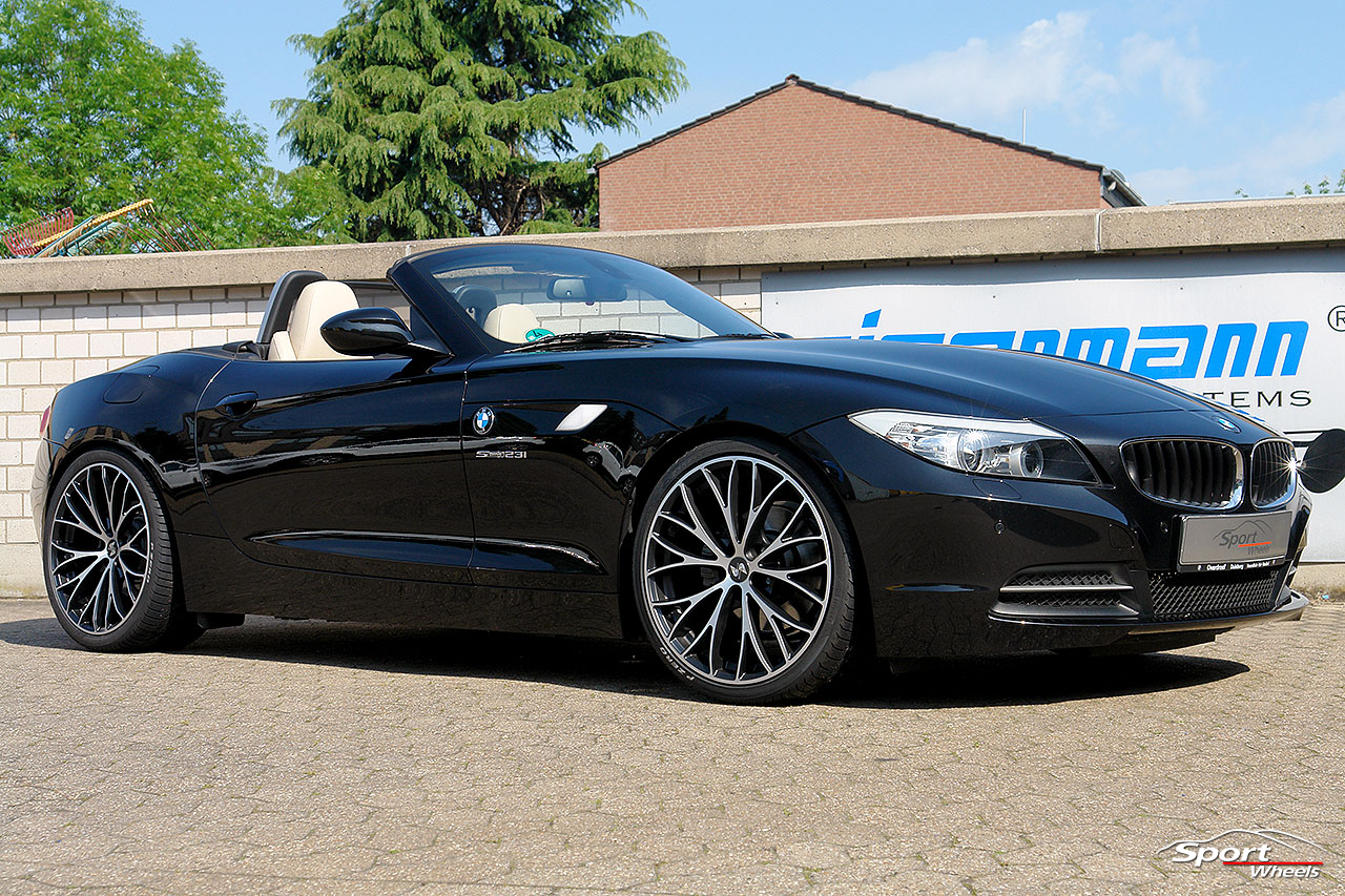 black bmw car polish photo - 2