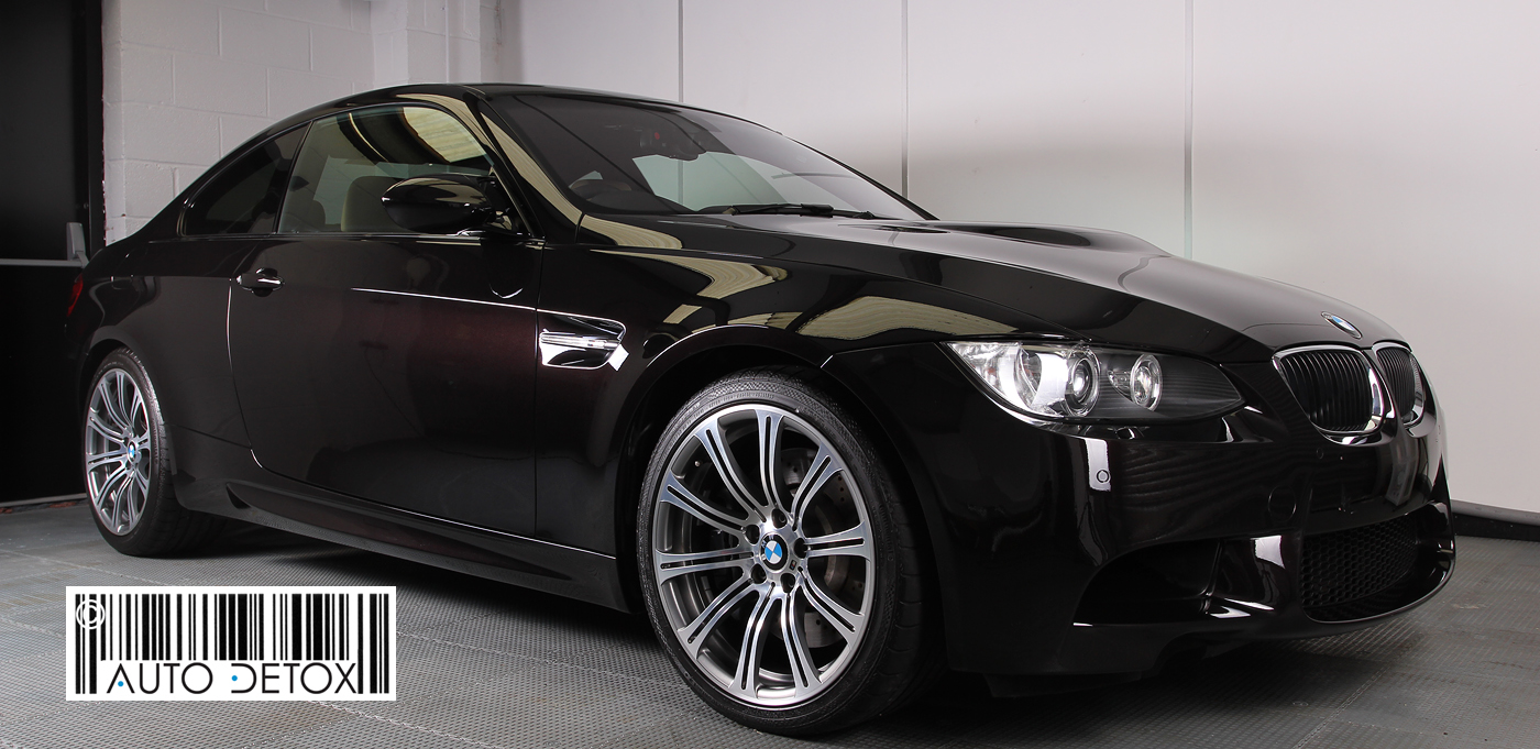 black bmw car polish photo - 3