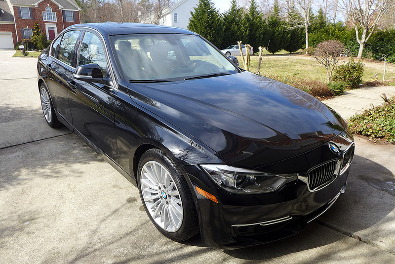 black bmw car polish photo - 6