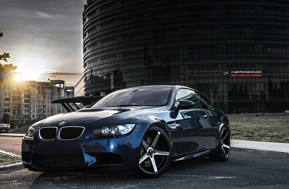 black bmw car polish photo - 7
