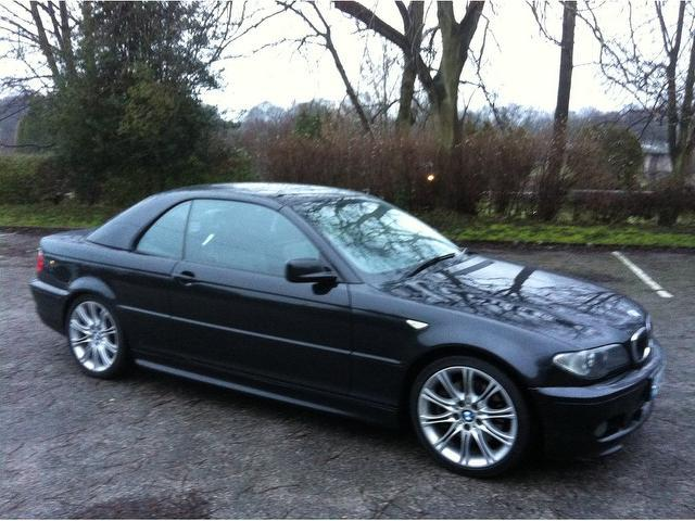 black bmw convertible 3 series for sale photo - 4