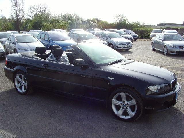 black bmw convertible for sale photo - 1