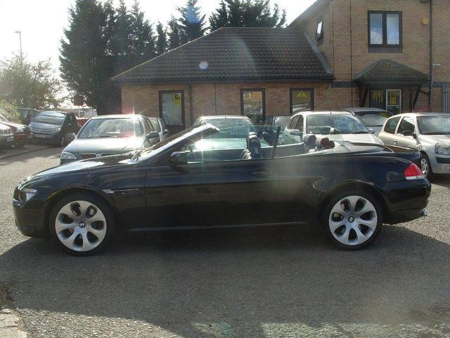 black bmw convertible for sale photo - 5