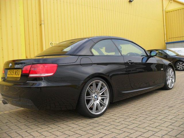 black bmw convertible for sale photo - 7