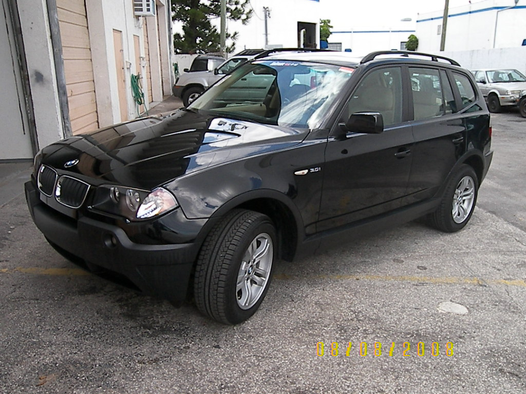 black bmw x3 2005 photo - 1