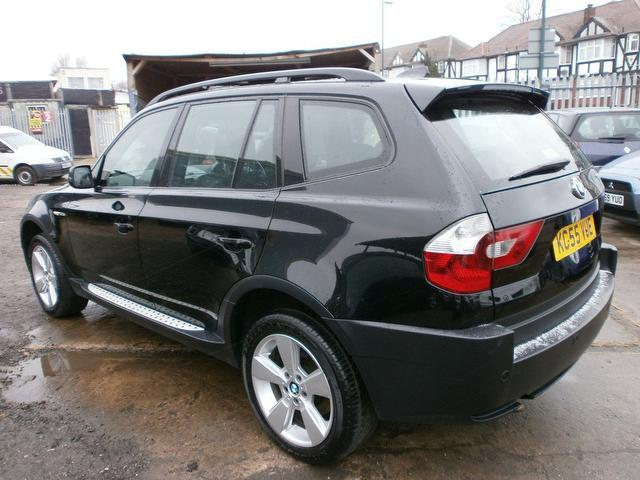 black bmw x3 2005 photo - 2
