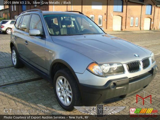 black bmw x3 2005 photo - 3