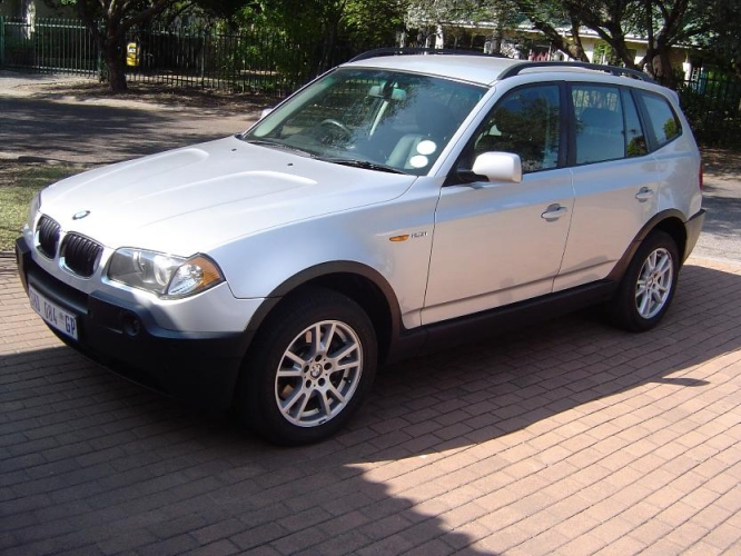 black bmw x3 2005 photo - 4