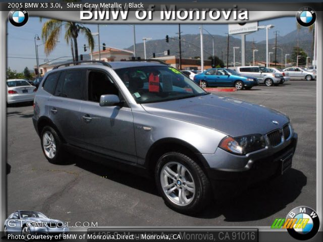 black bmw x3 2005 photo - 7
