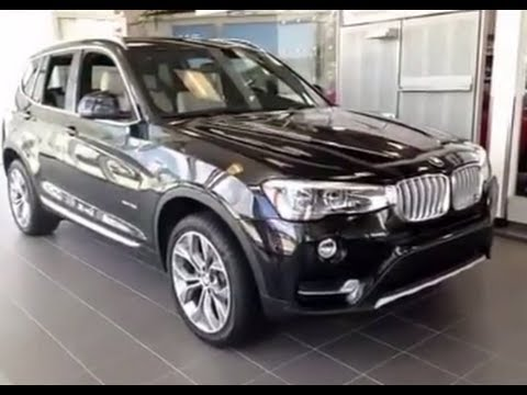 black bmw x3 2015 photo - 1