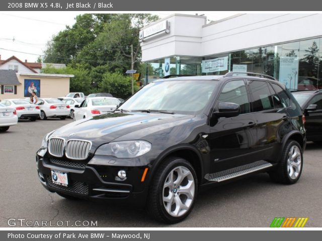 black bmw x5 2008 photo - 2