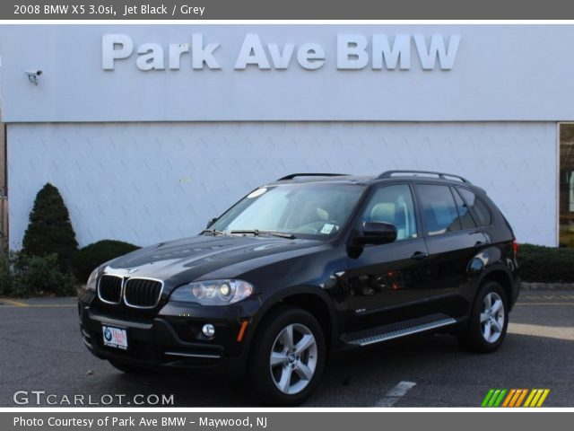 black bmw x5 2008 photo - 5
