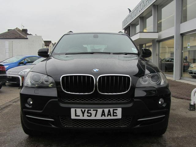 black bmw x5 2008 photo - 7