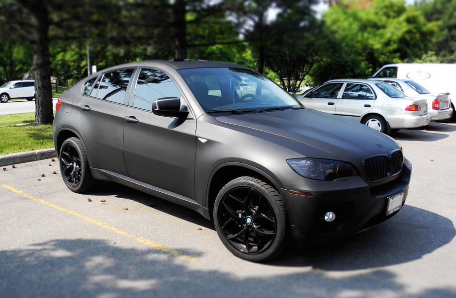 Pics For Gt Bmw X6 Black Matte