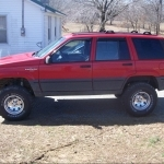 1993 Jeep Cherokee UK Version