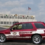 2002 Oldsmobile Bravada Indy Pace Car