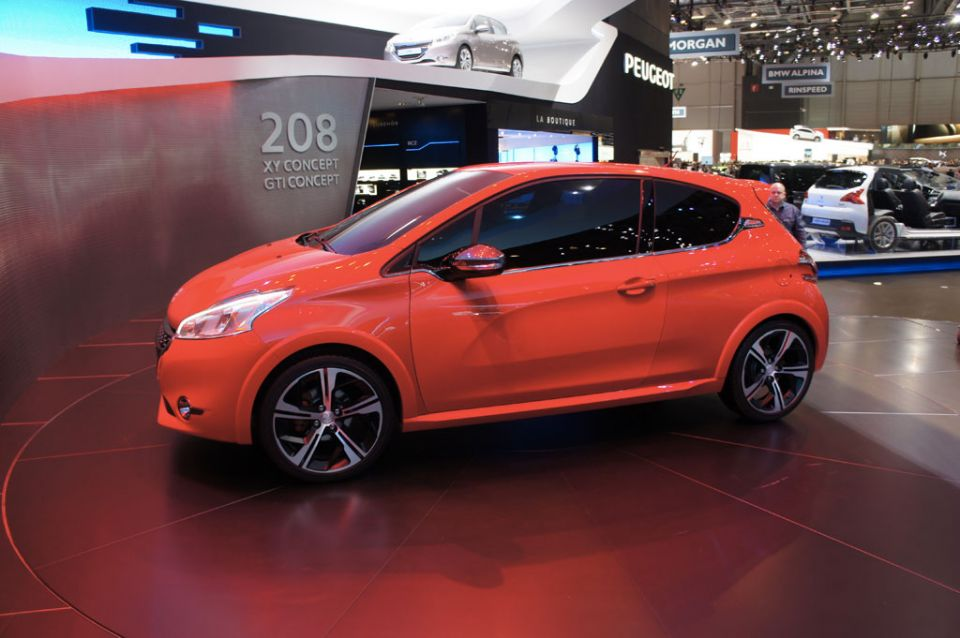 2012 Peugeot 208 Gti Concept Car Photos Catalog 2018