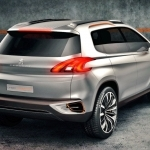 2012 Peugeot Urban Crossover Concept