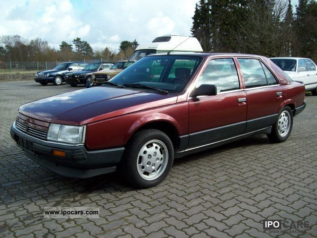 1988 Renault 25 V6 Injection Car Photos Catalog 2018