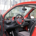 2006 Smart fortwo edition red