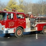 2016 Mack pumper