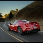 2015 Alfa Romeo 4C Coupe US Version