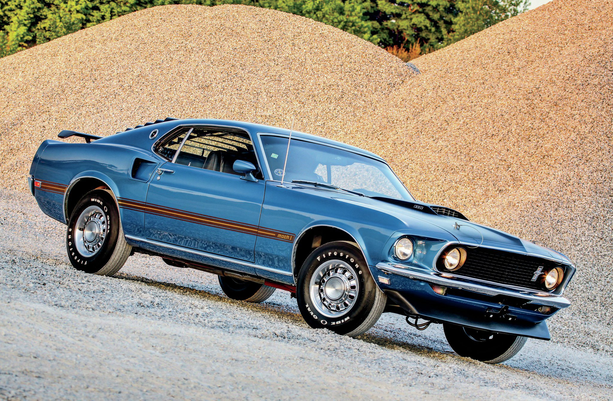 1969 ford mustang mach 1 photo 1
