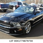 2011 Ford Mustang Shelby GT500 Convertible