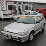 1987 Honda Civic CRX Si