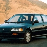 1988 Honda Civic CRX Si