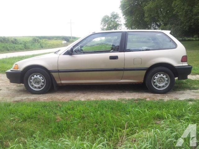 1990 honda civic hatchback si