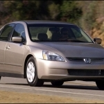 2003 Honda Accord Sedan 2.4T European Version